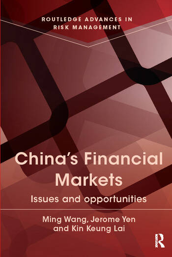 China's Financial Markets Issues and Opportunities book cover
