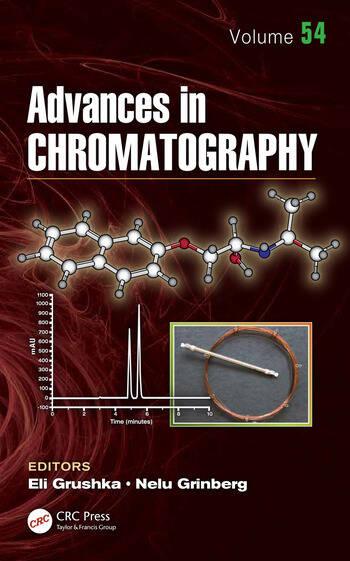 Advances in Chromatography Volume 54 book cover