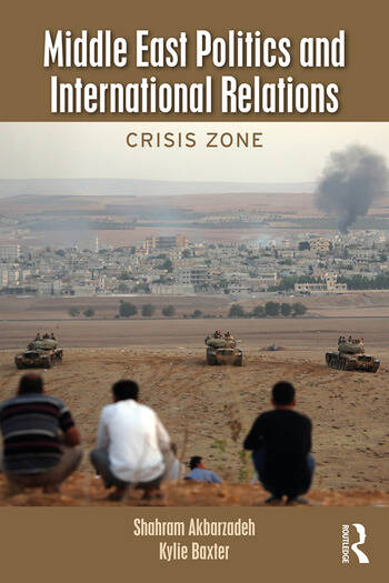 Middle East Politics and International Relations Crisis Zone book cover