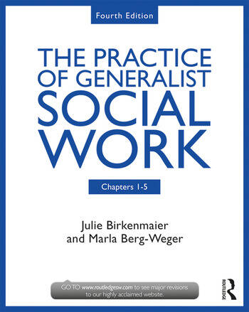 The Practice of Generalist Social Work Chapters 1-5 book cover