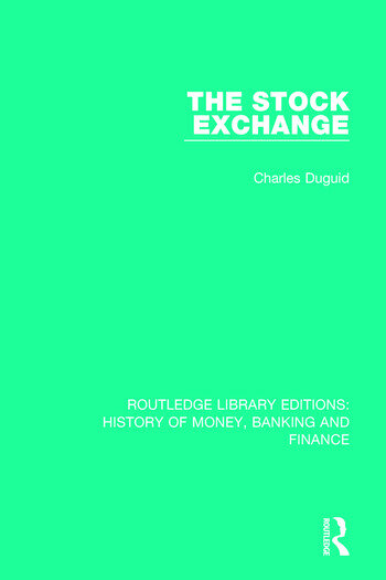 The Stock Exchange book cover