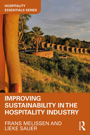 Improving Sustainability in the Hospitality Industry book cover