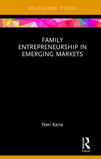 Family Entrepreneurship in Emerging Markets book cover