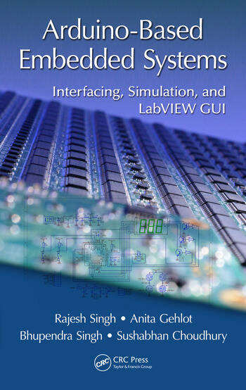 Arduino-Based Embedded Systems Interfacing, Simulation, and LabVIEW GUI book cover