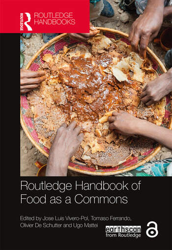 Routledge Handbook of Food as a Commons book cover
