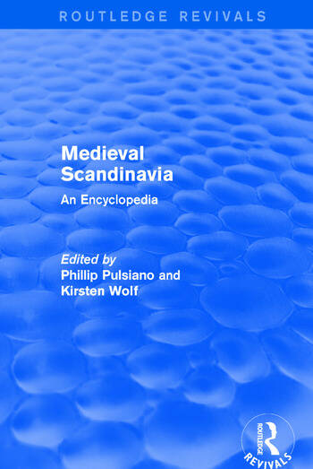 Routledge Revivals: Medieval Scandinavia (1993) An Encyclopedia book cover