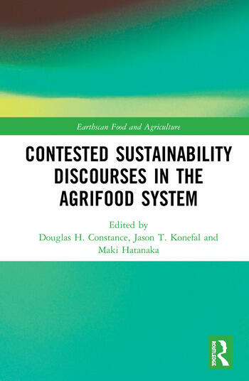 Contested Sustainability Discourses in the Agrifood System book cover