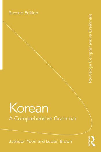 Korean A Comprehensive Grammar book cover