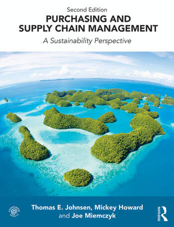 Purchasing and Supply Chain Management A Sustainability Perspective book cover