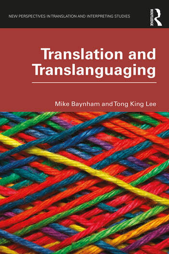 Translation and Translanguaging book cover