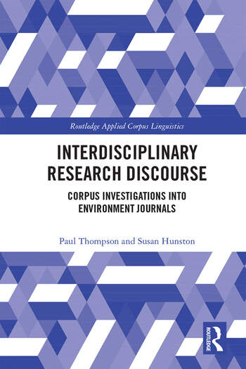 Interdisciplinary Research Discourse Corpus Investigations into Environment Journals book cover