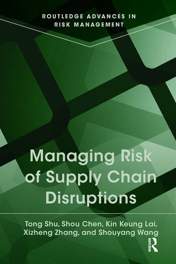 Managing Risk of Supply Chain Disruptions book cover