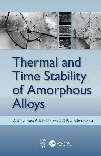 Thermal and Time Stability of Amorphous Alloys book cover