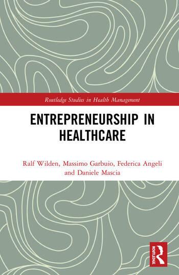 Entrepreneurship in Healthcare book cover