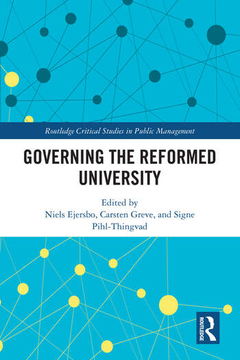 Governing the Reformed University book cover