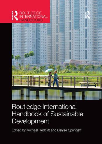 Routledge International Handbook of Sustainable Development book cover