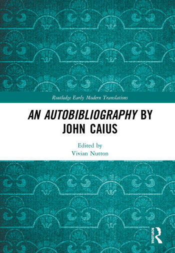 An Autobibliography by John Caius book cover