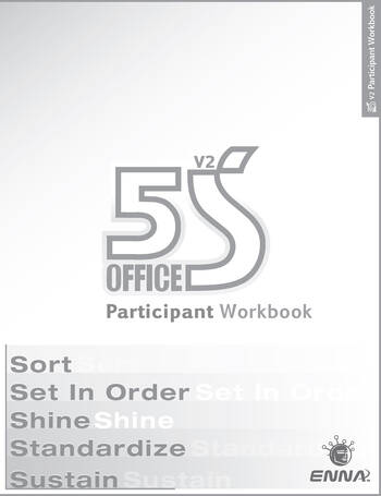 5S Office: Version 2 Participant Workbook book cover