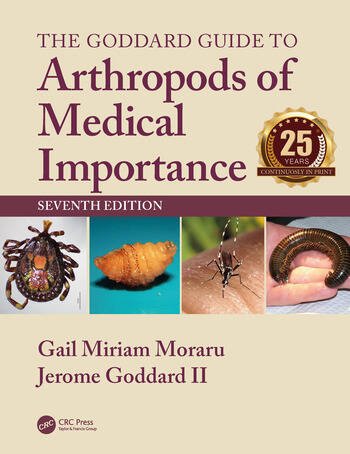 The Goddard Guide to Arthropods of Medical Importance book cover
