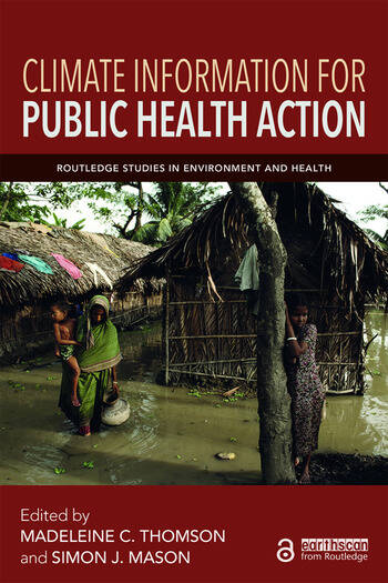 Climate Information for Public Health Action book cover