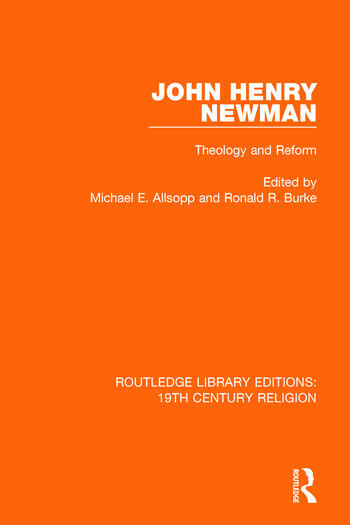 John Henry Newman Theology and Reform book cover