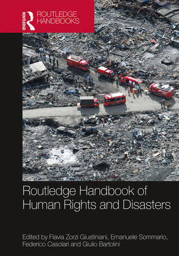 Routledge Handbook of Human Rights and Disasters book cover