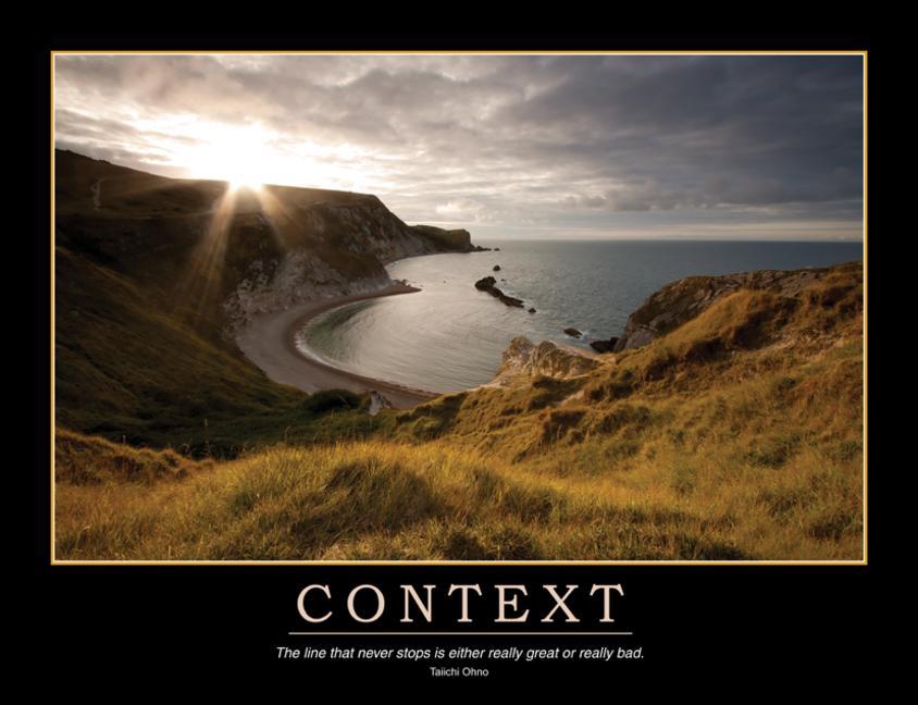 Context Poster book cover