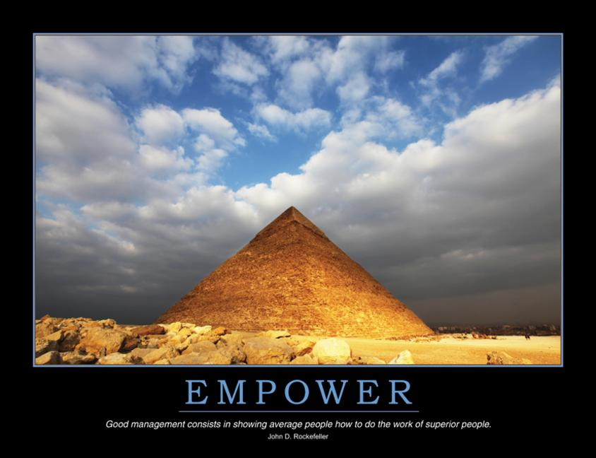 Empower Poster book cover