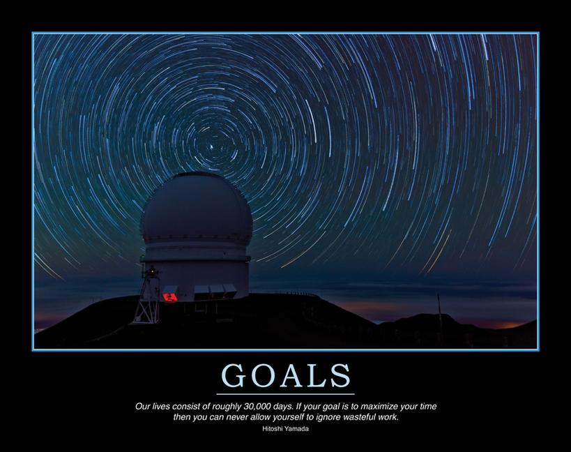 Goals Poster book cover
