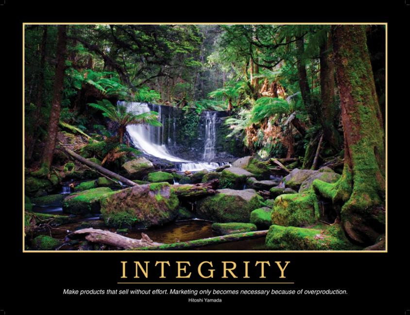 Integrity Poster book cover