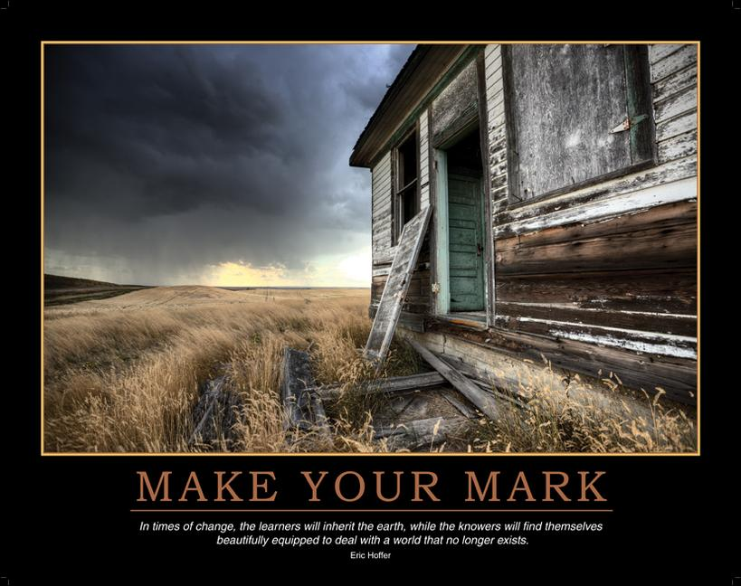 Make Your Mark Poster book cover
