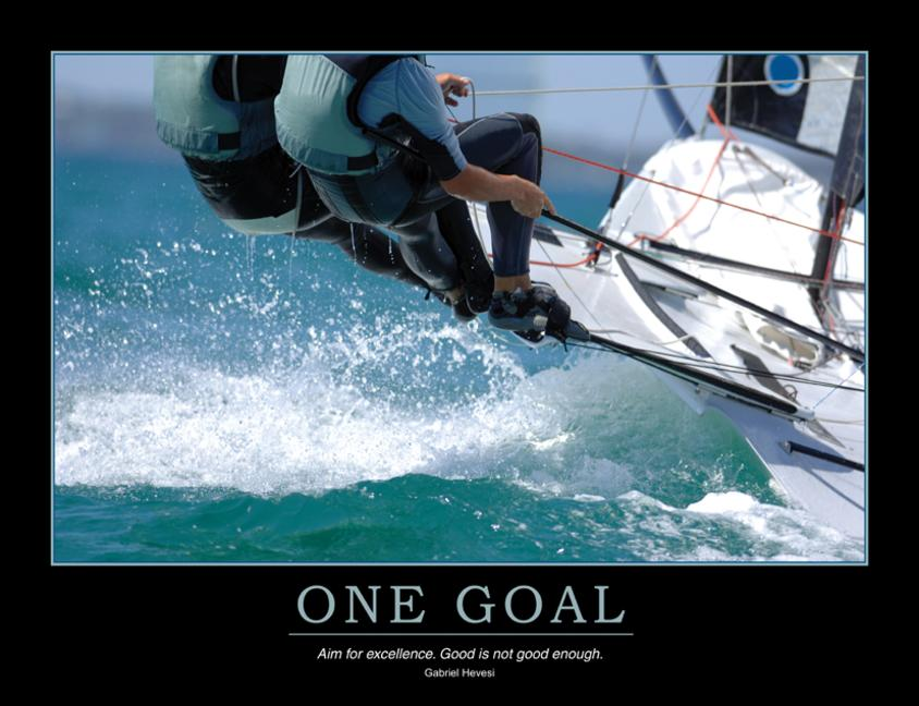 One Goal Poster book cover