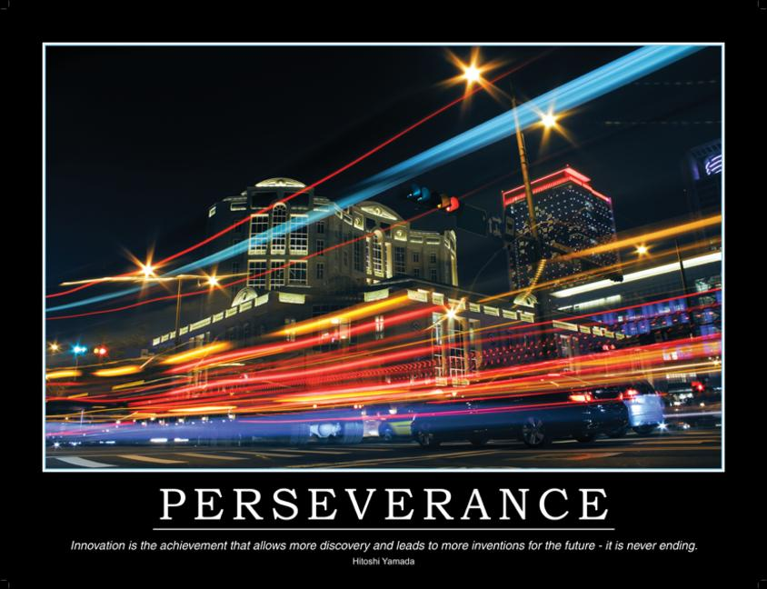 Perseverance Poster book cover