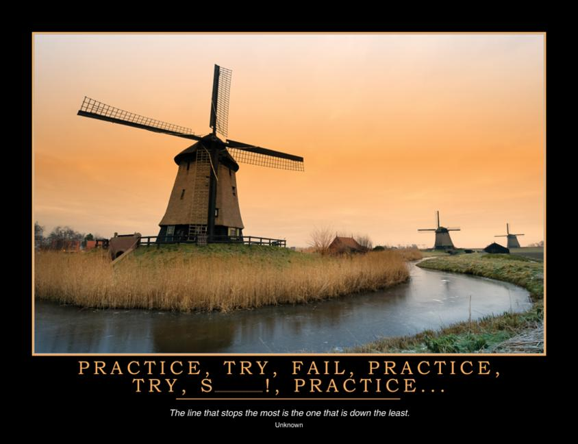 Practice Poster book cover