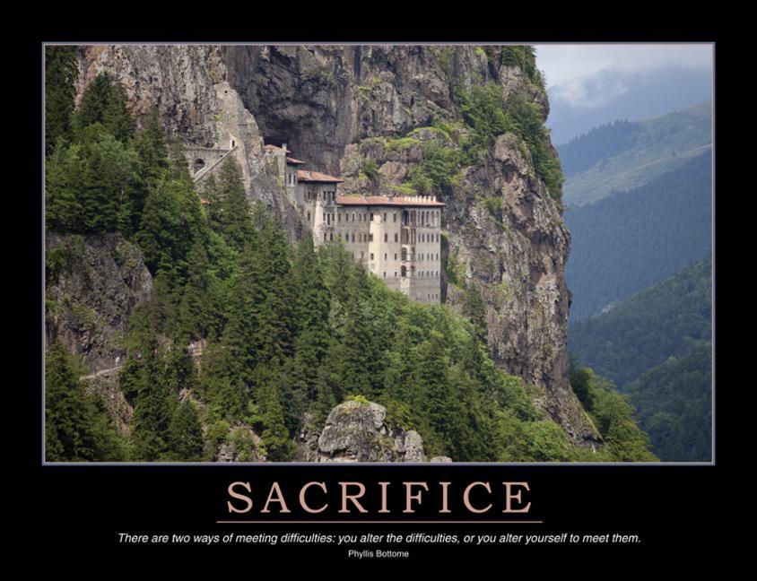Sacrifice Poster book cover