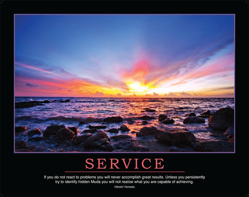 Service Poster book cover