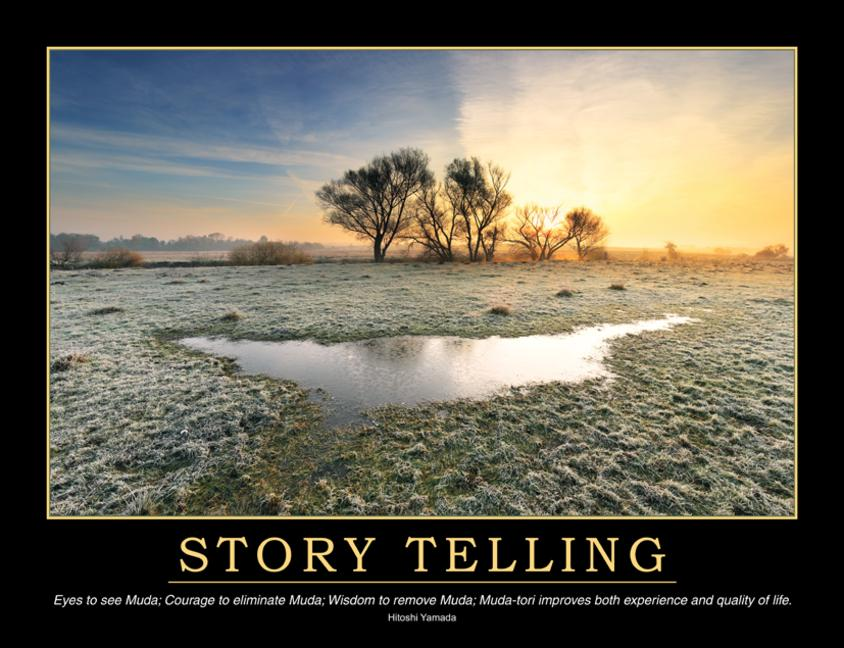 Story Telling Poster book cover