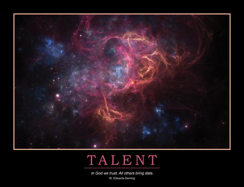 Talent Poster book cover