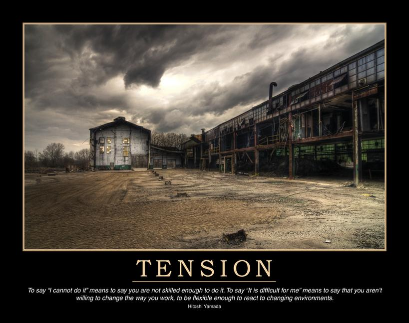 Tension Poster book cover
