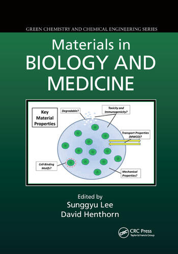 Materials in Biology and Medicine book cover