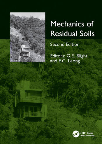 Mechanics of Residual Soils, Second Edition book cover