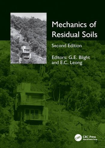 Mechanics of Residual Soils book cover