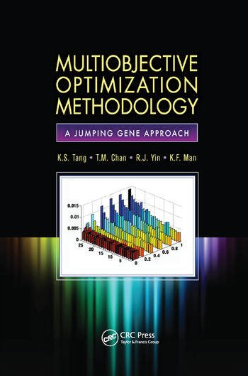 Multiobjective Optimization Methodology A Jumping Gene Approach book cover