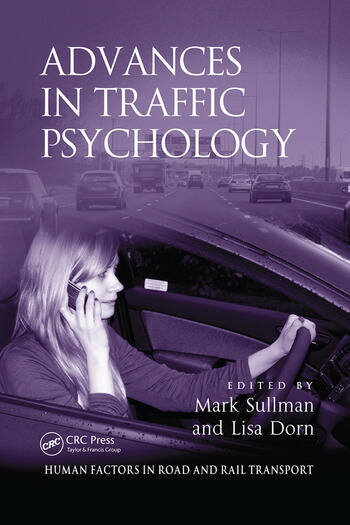 Advances in Traffic Psychology book cover