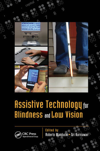 Assistive Technology for Blindness and Low Vision book cover
