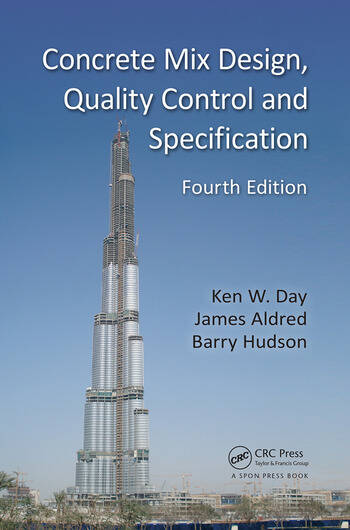 Concrete Mix Design, Quality Control and Specification book cover