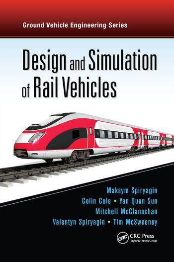 Design and Simulation of Rail Vehicles book cover