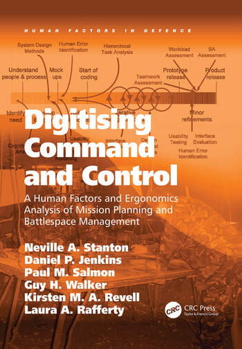 Digitising Command and Control A Human Factors and Ergonomics Analysis of Mission Planning and Battlespace Management book cover