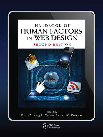 Handbook of Human Factors in Web Design book cover
