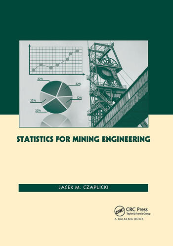 Statistics for Mining Engineering book cover